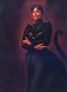 ведьма кошка платье