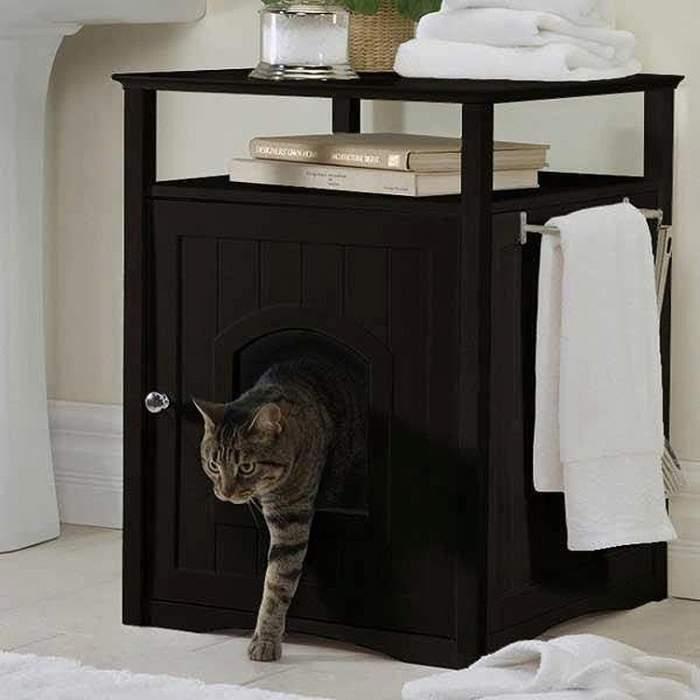 тумба домик для кота