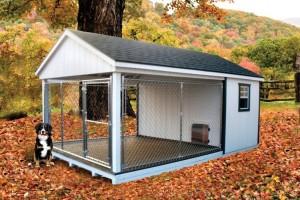 Вольер дом для собаки