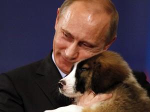 Путин и каракачанская собака