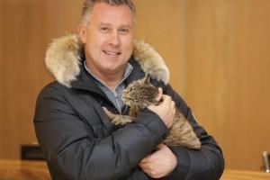 """Кошка Матроска из Владивостока, ограбившая магазин рыбных деликатесов - талисман ХК """"Адмирал"""""""